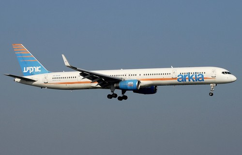 самолет Arkia Israel Airlines
